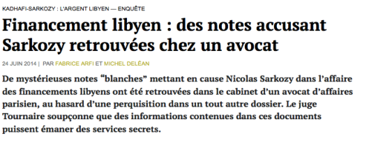 Sarkozy Médiapart