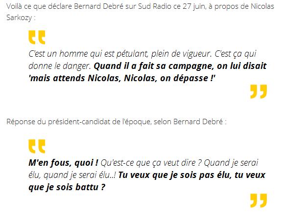 Sarkozy savit Bygmalion M'en fous