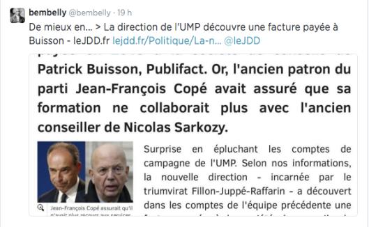 UMP Facture Buisson