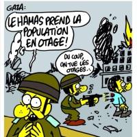 #Gaza: Charlie hebdo a déconné...