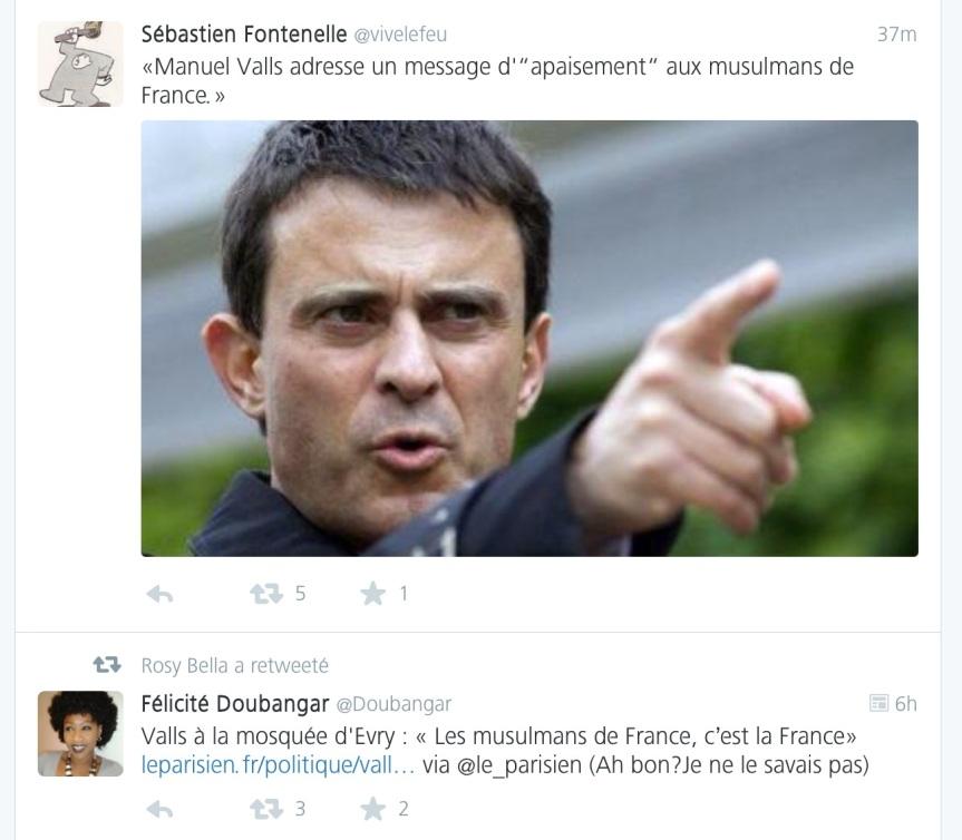 Manuel Valls Apaisement Evry