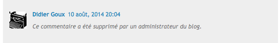 Commentaire DidierGoux