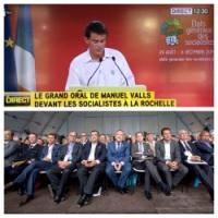"""Entubologie (politique): le """"Discours Medef"""" de Valls à la Rochelle.... #UEPS"""