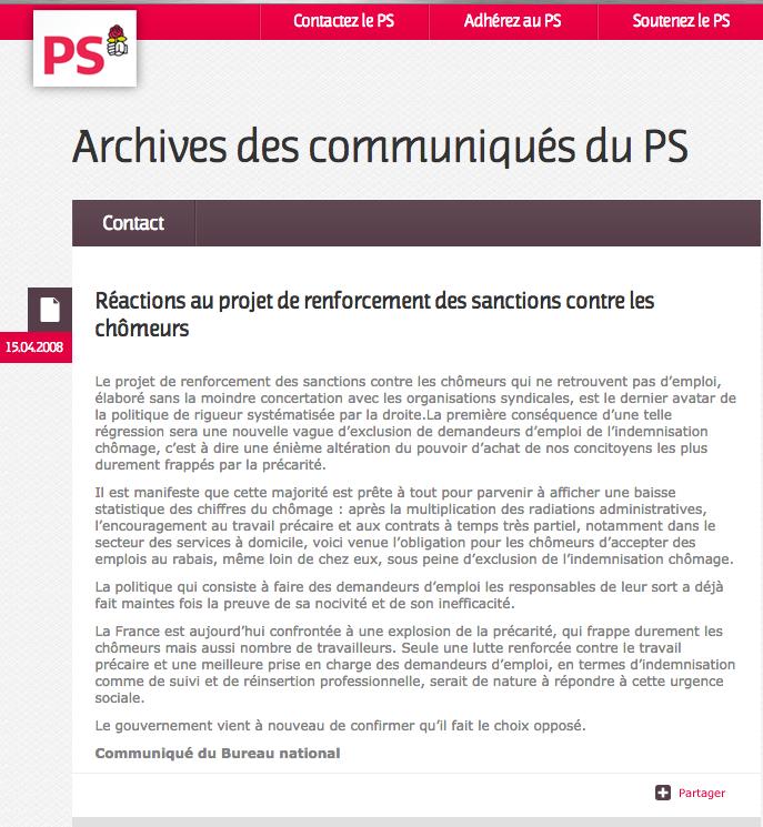 archive_PS_vilain_sarkozy_chomeurs