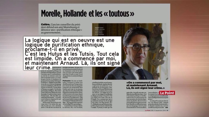 Aquilino Morelle le point