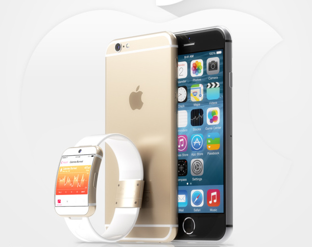 iPhone 6 iwatch