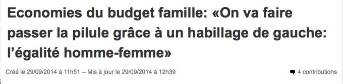 Loi Famille Habilité du Gouvernement Marisole Touraine