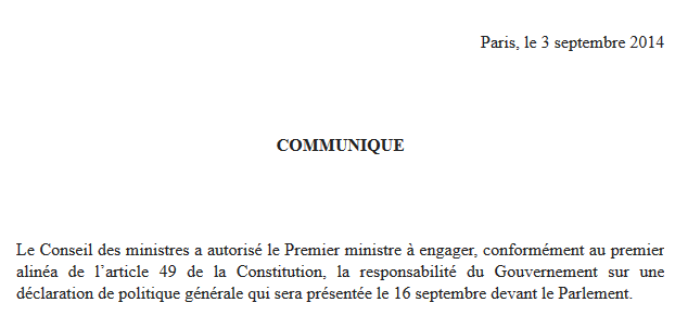 Valls Article 49-3 2