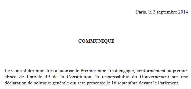 Valls Article 49-3 2