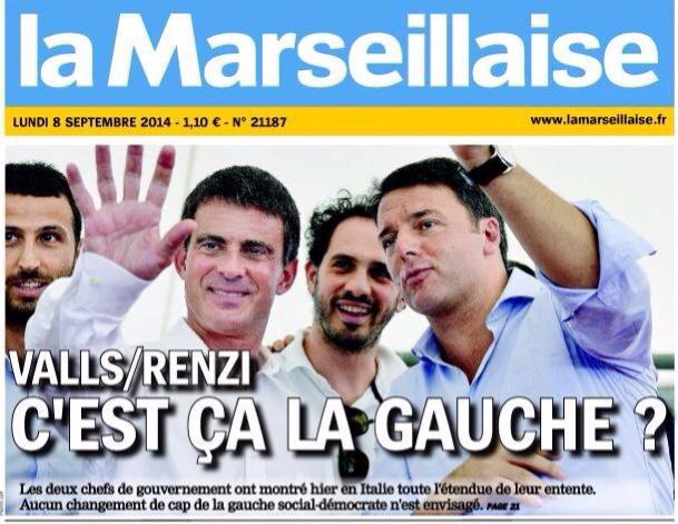 Valls Aubry Renzi