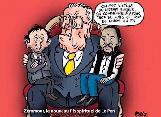 Le Pen Zemmour Dieudonné