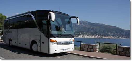 Macron Autocar voyages scnf