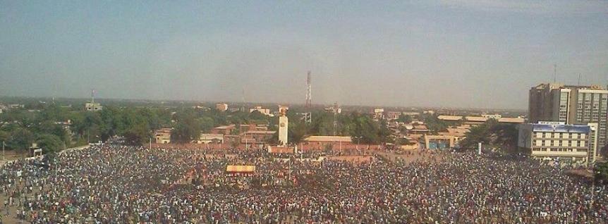 Ouagadougou Burkina Révolution