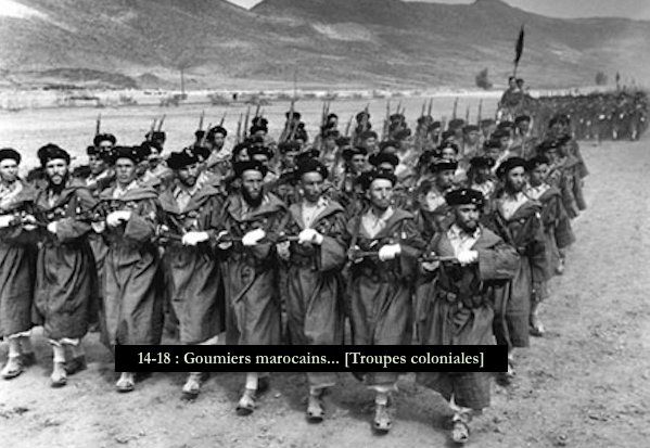14-18 - Goumiers marocains... [Troupes coloniales]
