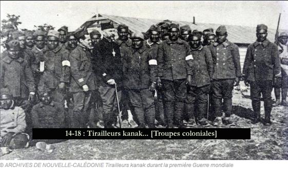14-18 - Tirailleurs kanak... [Troupes coloniales]