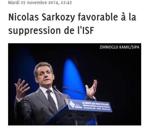 ISF Sarkozy Rachida Dati