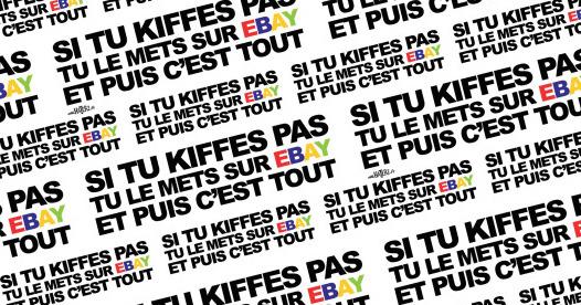 emballage Ebay si tu Kiffes pas tu mets sur ebay et puis c'est tout