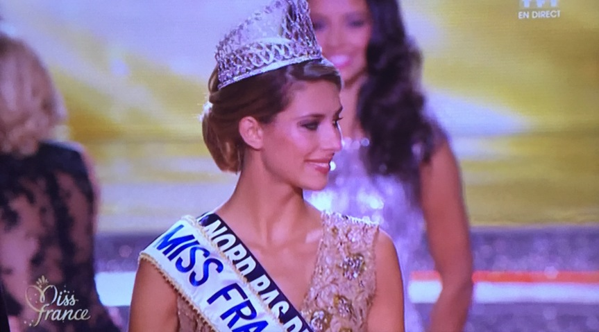 Miss Farnce 2015 Camille Cerf