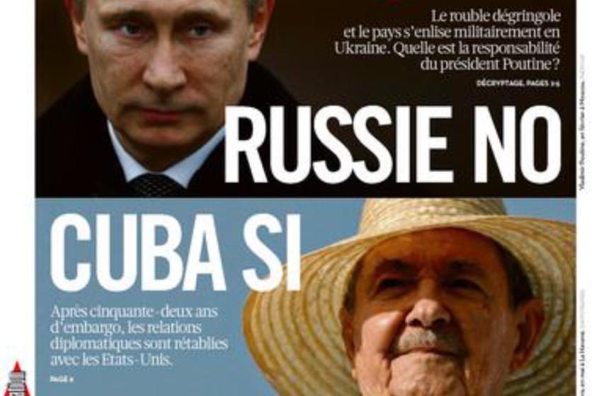 Russie, Cube USA actu