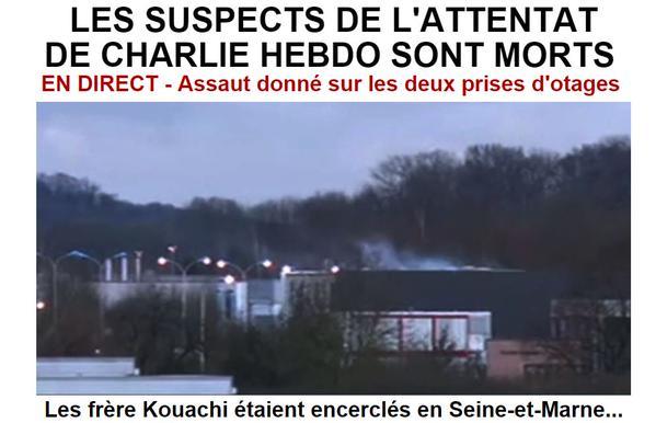 Les tueurs de Charlie Hebdo tués