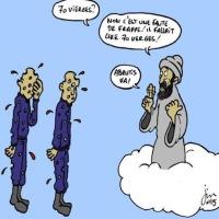 Pénurie de vierges au Paradis, c'est l'enfer...