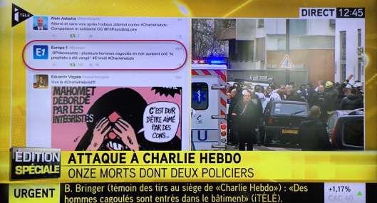 Horreur fusillade à Charlie_Hebdo
