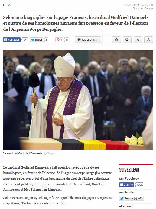 Pape élection illégitime