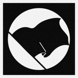drapeau-noir-patch-a-coudre-9x9cm