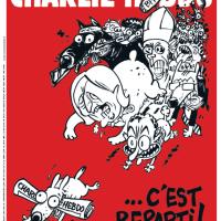 #CharlieHebdo et la bande de clébards (Nouvelle UNE, n°2 de l'après)...