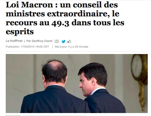 Loi Macron 49.3