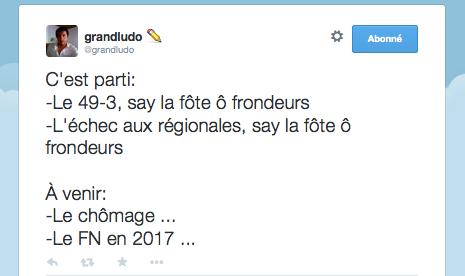 Say la fôte ô frondeurs