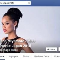 Miss Japon (Ariana Miyamoto), c'est une métisse ....