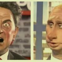 Entre Mélenchon et Vladimir Poutine, c'est (vraiment) du sérieux ...
