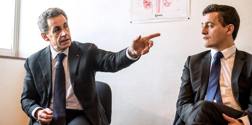 Nicolas-Sarkozy et Gerald Darmanin
