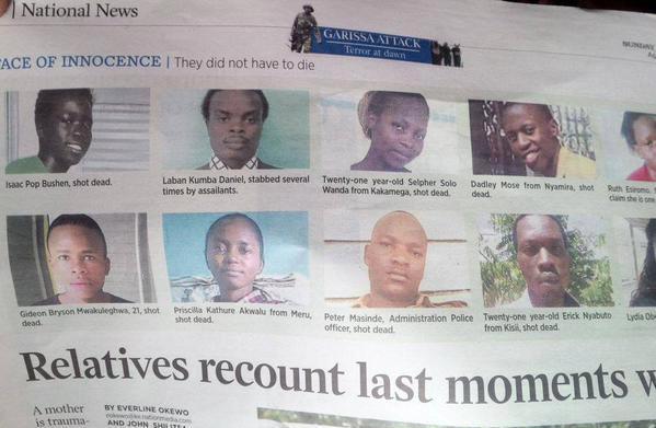 kenya shot dead