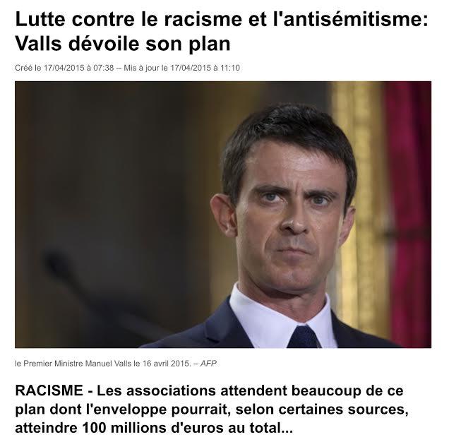 Racisme Valls