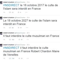 Dieu Akbar? Il voulait interdire l'Islam en France, il a viré fou ...