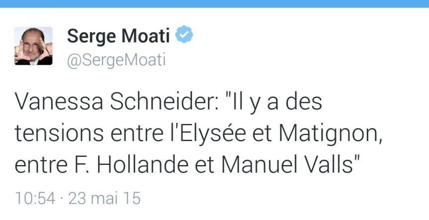 Serge Moati Valls Hollande tensions