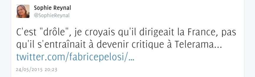 Valls critiqué sur Twitter Cannes 20015