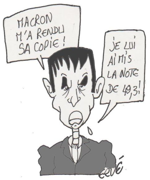 Loi Macron Valls article 49.3 dessin