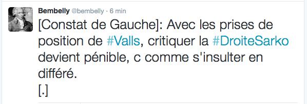 Valls, Sarkozy et la Gauche