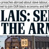 #Migrants: Si les Anglais débarquent à #Calais , M. Le Pen fera t-elle «Jeanne d'Arc?»...