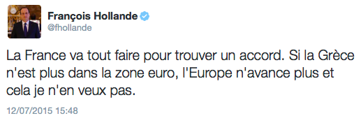 F Hollande nouvel homme fort de l'Europe