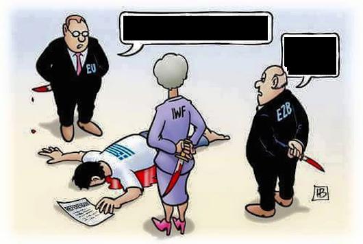 Grèce Meutre ou suicide