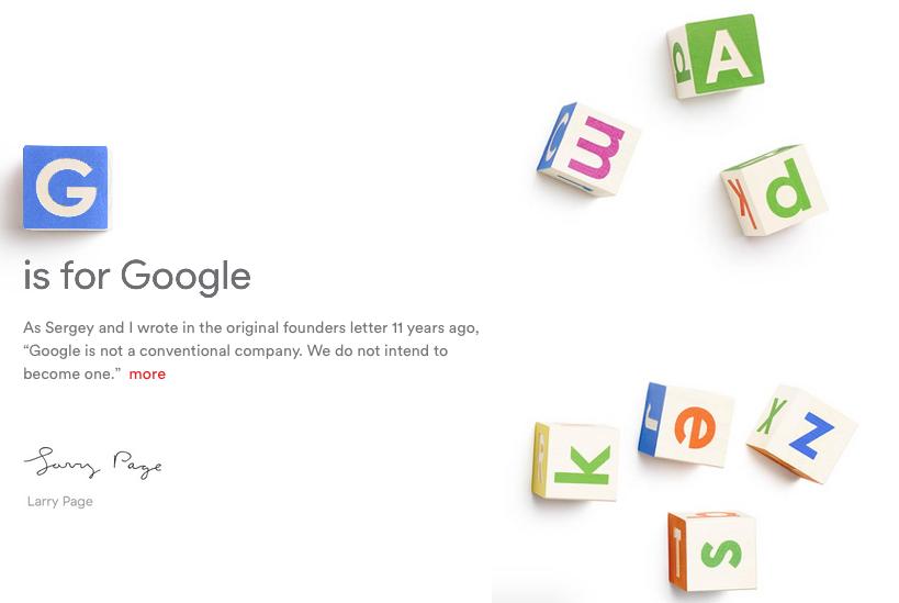 G is Google