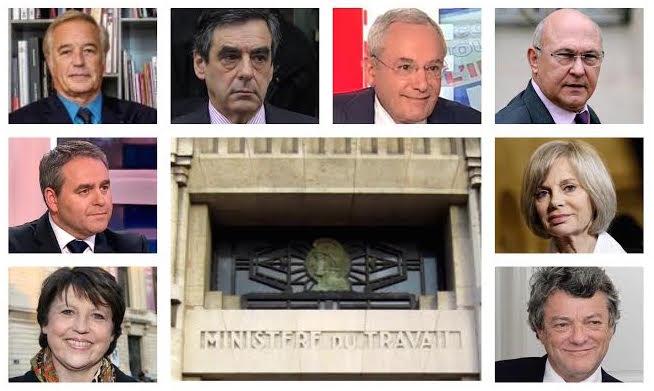 Ministres du travail bilan depuis 1995 2015