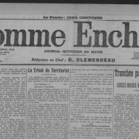 """""""L'esprit Canard Enchaîné"""" a 100 ans, voici sa 1ère «UNE»..."""