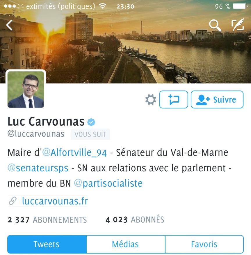Luc Carvounas twitter 1