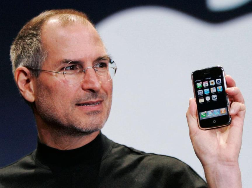 Steve Jobs inventeur iPhone fils d'un Migrant