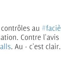 Msg pour la Gauche-Valls et le #PS: «Mon faciès vous emmerde!»... #racisme